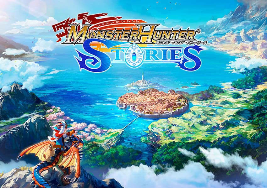 6819a monster2bhunter2bstories2banime David Production to Animate Monster Hunter Stories