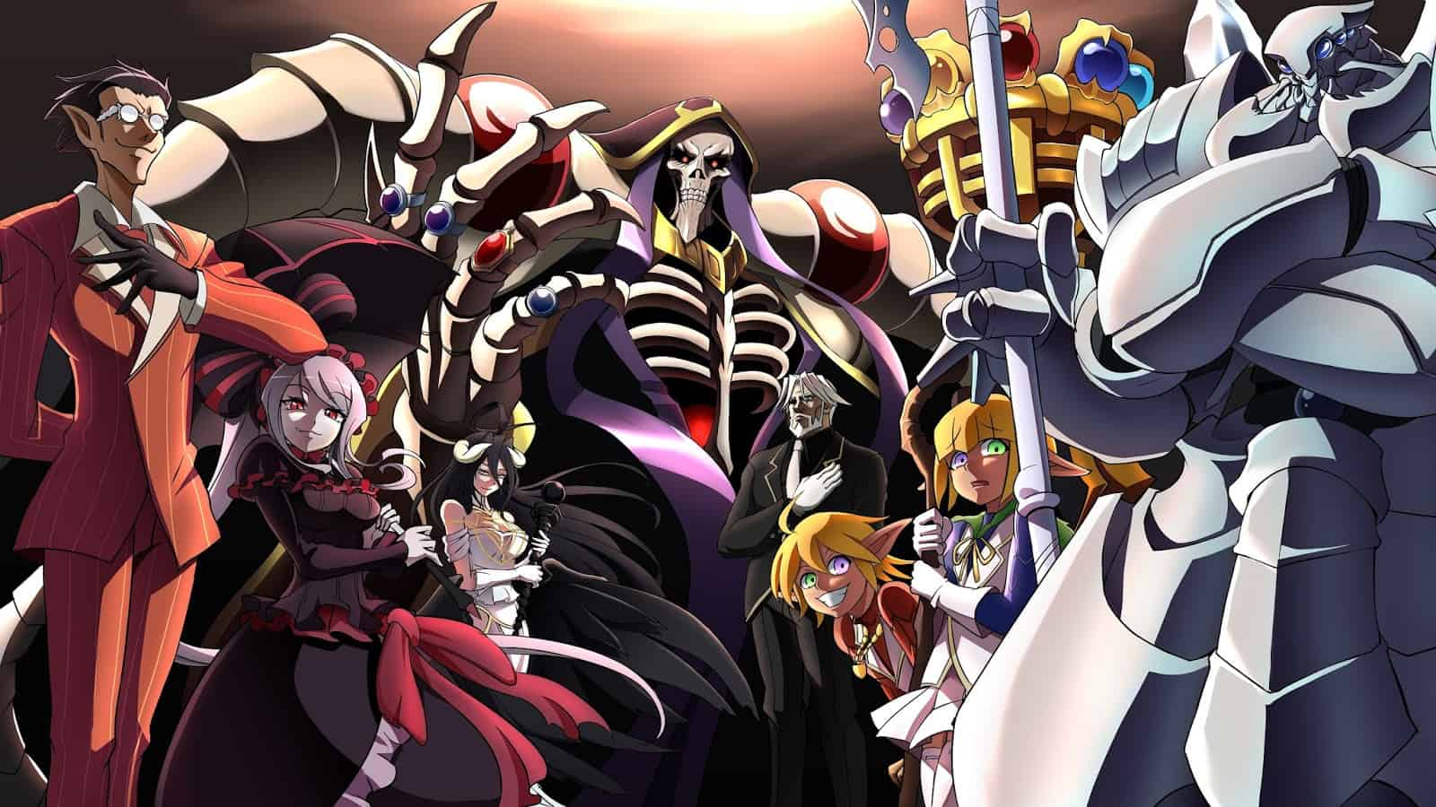 844ad overlord Top 20 Strongest Overlord Characters