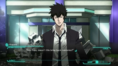 Psycho-Pass anime game