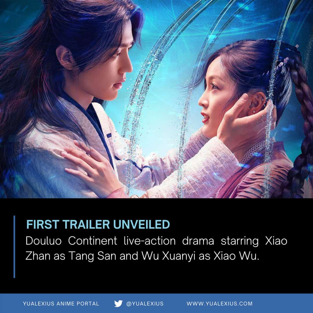 "15187 douluo2bcontinent2blive action2bdrama Chinese Live-Drama ""Douluo Continent"" First Trailer"