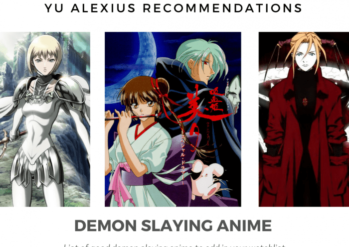 demon-slaying anime recommendation