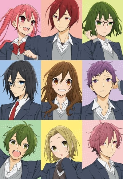 Horimiya TV anime 2021