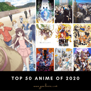 Top and Best Anime of 2020
