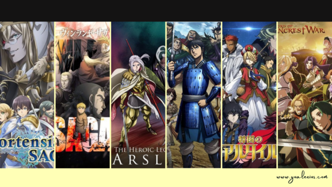 Anime with Kingdoms and Empires at War