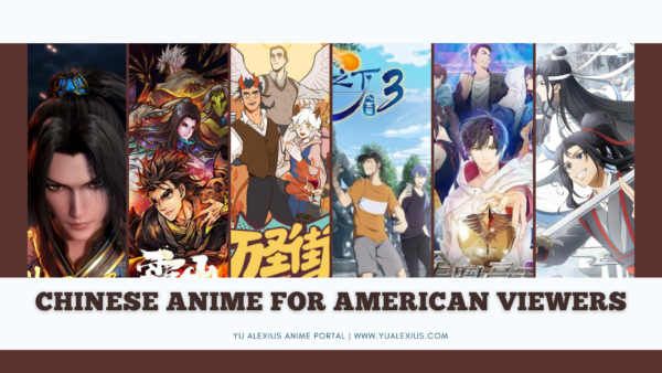 Chinese anime for western viewers / american / european