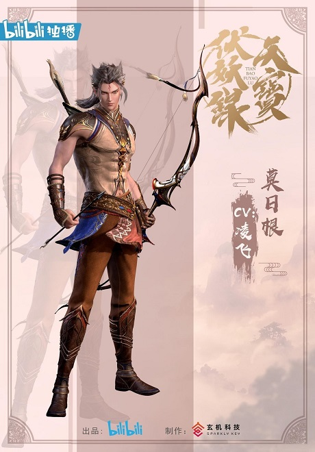 Mo Rigen chinese anime male character