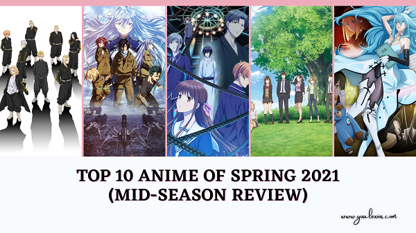 Top 10 Anime of Spring 2021 Lineup