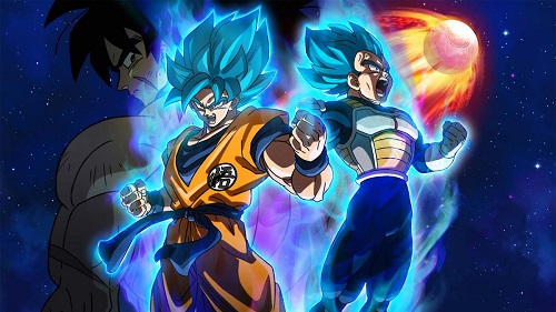 anime like fog hill of five elements Dragon Ball Super Broly