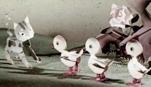 Golden Age of Chinese Animation A Clever Duckling