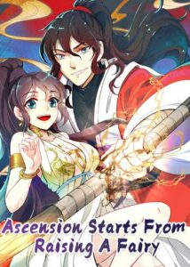 Chinese manhua in English Cultivate with a Fairy