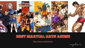 best martial arts anime