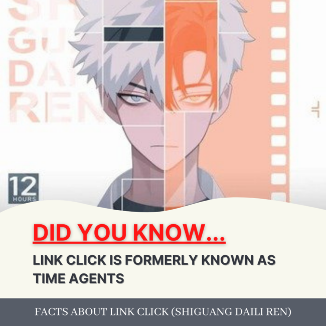 FACT: LINK CLICK IS FORMERLY KNOWN AS TIME AGENTS